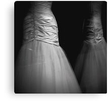 _ the wedding dress _ Canvas Print