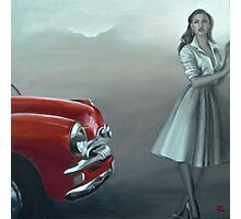 Remember ...? Feat. 54 FJ Holden Photographic Print