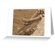 Footloose Greeting Card