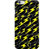 Awesome Lightning Bolt - Circle  iPhone Case/Skin