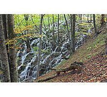 Plitvice waterfalls, Croatia Photographic Print
