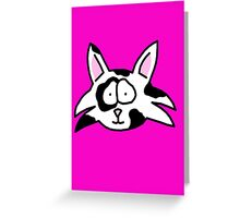 Cat Patches Greeting Card