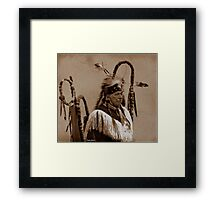 White Eagle Framed Print