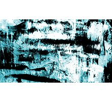 Blue Abstraction Photographic Print