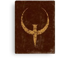 Quake - Bronze Canvas Print