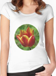A Tulip Tee - 01 Women's Fitted Scoop T-Shirt