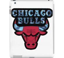 Chicago Bulls Logo Tie Dye  iPad Case/Skin