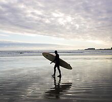 surfer, Tofino, Canada by Christopher Barton