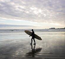 surfer, Tofino, Canada by Christopher Barton