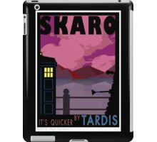 SKARO QUICKER BY TARDIS iPad Case/Skin