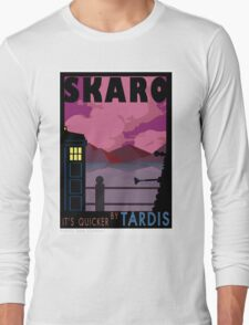 SKARO QUICKER BY TARDIS Long Sleeve T-Shirt