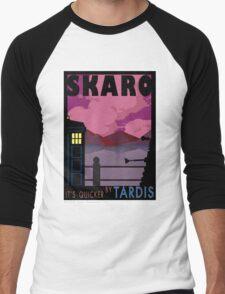 SKARO QUICKER BY TARDIS Men's Baseball ¾ T-Shirt