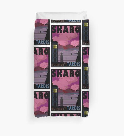 SKARO QUICKER BY TARDIS Duvet Cover