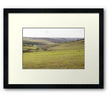 Barrabool Farmland Framed Print