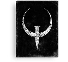 Quake - White Canvas Print