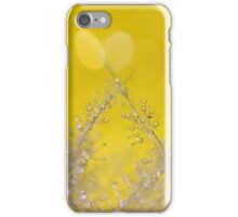 Yellow Sparkles iPhone Case/Skin