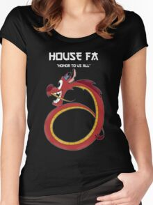House Fa Women's Fitted Scoop T-Shirt