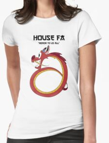 House Fa Womens Fitted T-Shirt