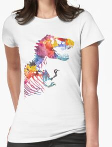 Funkosaurus Rex Womens Fitted T-Shirt
