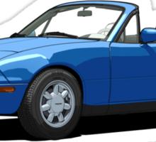 Mazda MX-5 Miata MK1 Mariner Blue Sticker