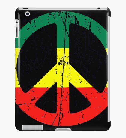 Rasta Peace and love - Distressed iPad Case/Skin