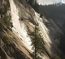 Nevada Falls, Yosemite by Christopher Barton