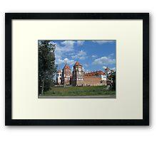 Mir castle Framed Print