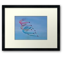 The Red Arrows 15 Framed Print