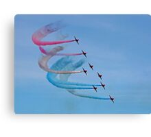 The Red Arrows 15 Canvas Print