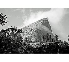 clouds over Half Dome, Yosemite Photographic Print