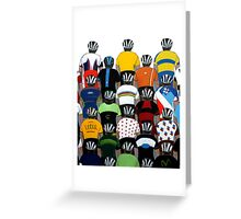 Maillots 2015 Shirt Greeting Card