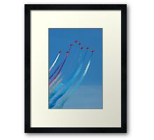 The Red Arrows 5 Framed Print