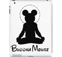 buddha mouse  iPad Case/Skin