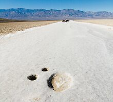 Death Valley Salt Pans by Andy Pearson