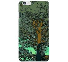 Tree in a puddle iPhone Case/Skin
