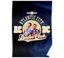 AC/DC: Atlantic City Dudes Club Poster