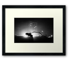 Where sleeping giants lie... Framed Print