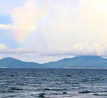 The Rainbow over the Islands - Hoi An, Vietnam. by Tiffany Lenoir