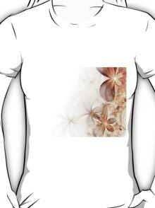 Soft Fractal Flowers T-Shirt