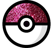 Glitter Pokemon Photographic Print