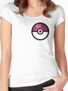 Glitter Pokemon Women's Fitted Scoop T-Shirt