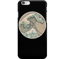 The great wave - Round iPhone Case/Skin