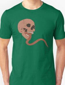 Skull Tongue [Red] (Other Colours Available) Unisex T-Shirt