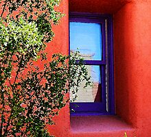 Purple Window by Linda Gregory