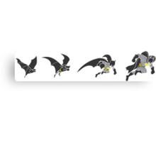 Evolution of the Bat Canvas Print
