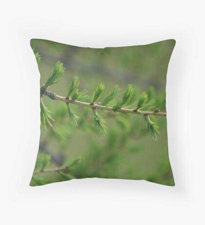 SO GREEN! Throw Pillow