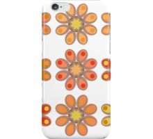 Pink Daffodil Foot Flowers iPhone Case/Skin