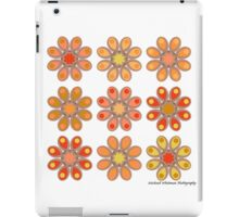 Pink Daffodil Foot Flowers iPad Case/Skin