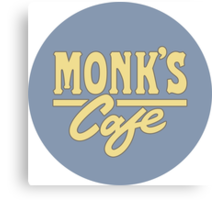 Monk's Cafe Canvas Print