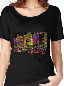 Copenhagen. Nyhavn Colors II Women's Relaxed Fit T-Shirt